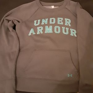 Under armour new grey sweater medium